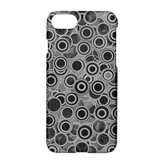 Abstract Grey End Of Day Apple Iphone 7 Hardshell Case by Ivana