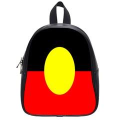 Flag Of Australian Aborigines School Bags (small)  by Nexatart