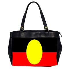 Flag Of Australian Aborigines Office Handbags (2 Sides)