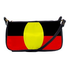 Flag Of Australian Aborigines Shoulder Clutch Bags by Nexatart