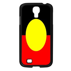 Flag Of Australian Aborigines Samsung Galaxy S4 I9500/ I9505 Case (black) by Nexatart