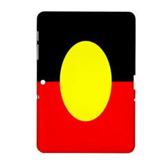 Flag Of Australian Aborigines Samsung Galaxy Tab 2 (10 1 ) P5100 Hardshell Case