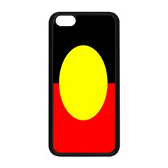 Flag Of Australian Aborigines Apple Iphone 5c Seamless Case (black) by Nexatart