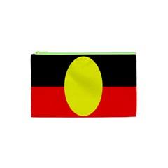 Flag Of Australian Aborigines Cosmetic Bag (xs) by Nexatart