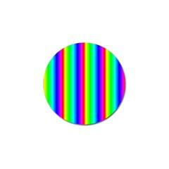 Rainbow Gradient Golf Ball Marker (4 Pack) by Nexatart