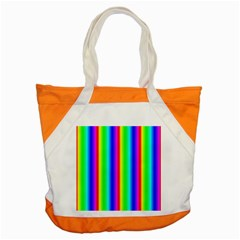 Rainbow Gradient Accent Tote Bag by Nexatart