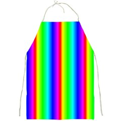 Rainbow Gradient Full Print Aprons
