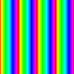 Rainbow Gradient Magic Photo Cubes