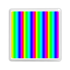Rainbow Gradient Memory Card Reader (square)