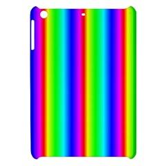 Rainbow Gradient Apple Ipad Mini Hardshell Case by Nexatart