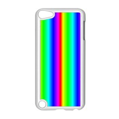 Rainbow Gradient Apple Ipod Touch 5 Case (white)