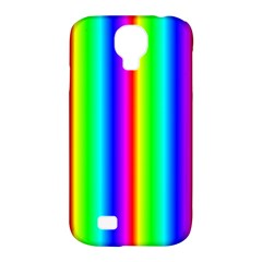 Rainbow Gradient Samsung Galaxy S4 Classic Hardshell Case (pc+silicone) by Nexatart
