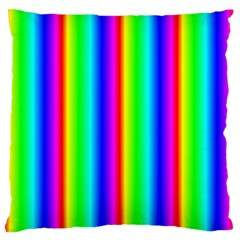 Rainbow Gradient Standard Flano Cushion Case (two Sides) by Nexatart