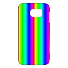 Rainbow Gradient Galaxy S6 by Nexatart