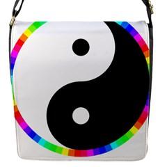 Rainbow Around Yinyang Flap Covers (s)