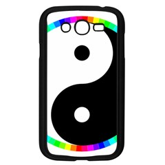 Rainbow Around Yinyang Samsung Galaxy Grand Duos I9082 Case (black)