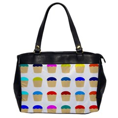 Colorful Cupcakes Pattern Office Handbags by Nexatart