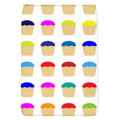 Colorful Cupcakes Pattern Flap Covers (s)  by Nexatart
