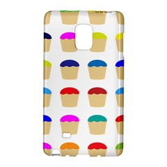 Colorful Cupcakes Pattern Galaxy Note Edge