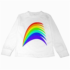 Rainbow Kids Long Sleeve T Shirts