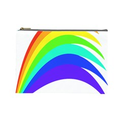 Rainbow Cosmetic Bag (large)  by Nexatart