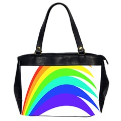 Rainbow Office Handbags (2 Sides)  by Nexatart