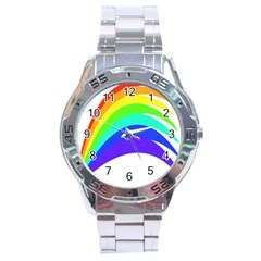 Rainbow Stainless Steel Analogue Watch