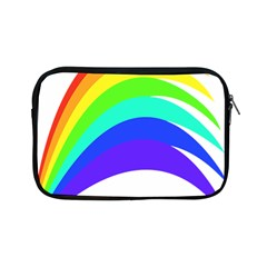 Rainbow Apple Ipad Mini Zipper Cases