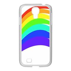 Rainbow Samsung Galaxy S4 I9500/ I9505 Case (white)