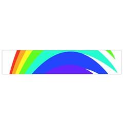 Rainbow Flano Scarf (Small) by Nexatart