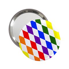 Rainbow Flag Bavaria 2 25  Handbag Mirrors