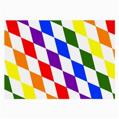 Rainbow Flag Bavaria Large Glasses Cloth