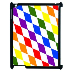Rainbow Flag Bavaria Apple Ipad 2 Case (black) by Nexatart