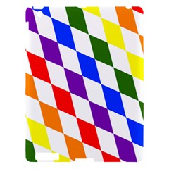 Rainbow Flag Bavaria Apple Ipad 3/4 Hardshell Case by Nexatart