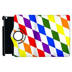Rainbow Flag Bavaria Apple Ipad 2 Flip 360 Case