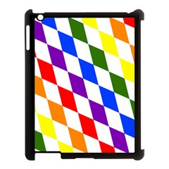 Rainbow Flag Bavaria Apple Ipad 3/4 Case (black) by Nexatart