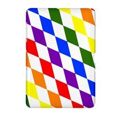 Rainbow Flag Bavaria Samsung Galaxy Tab 2 (10 1 ) P5100 Hardshell Case  by Nexatart