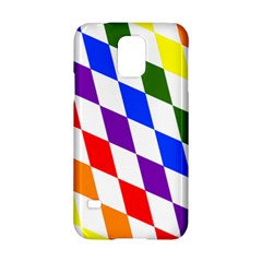 Rainbow Flag Bavaria Samsung Galaxy S5 Hardshell Case  by Nexatart