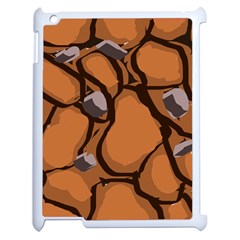 Seamless Dirt Texture Apple Ipad 2 Case (white) by Nexatart