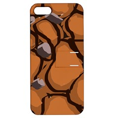 Seamless Dirt Texture Apple Iphone 5 Hardshell Case With Stand