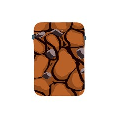 Seamless Dirt Texture Apple Ipad Mini Protective Soft Cases by Nexatart