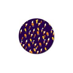 Seamless Ice Cream Pattern Golf Ball Marker by Nexatart