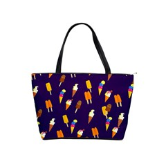 Seamless Ice Cream Pattern Shoulder Handbags by Nexatart
