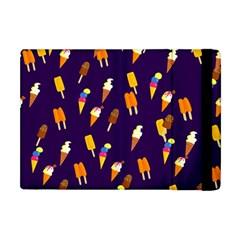 Seamless Ice Cream Pattern Apple Ipad Mini Flip Case by Nexatart