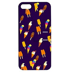 Seamless Ice Cream Pattern Apple Iphone 5 Hardshell Case With Stand