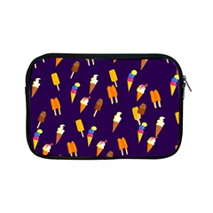 Seamless Ice Cream Pattern Apple Ipad Mini Zipper Cases by Nexatart