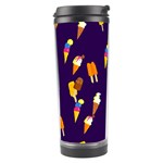 Seamless Ice Cream Pattern Travel Tumbler Right