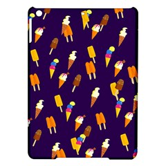 Seamless Ice Cream Pattern Ipad Air Hardshell Cases by Nexatart