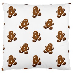 Gingerbread Seamless Pattern Large Cushion Case (two Sides)