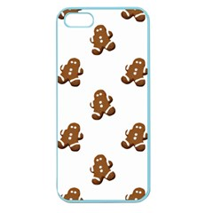 Gingerbread Seamless Pattern Apple Seamless Iphone 5 Case (color) by Nexatart